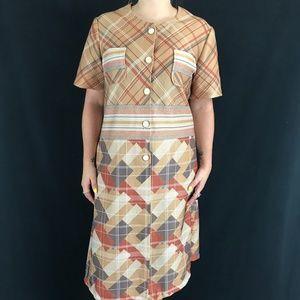 70s Handmade House Dress